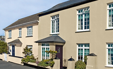 House paint colours exterior ireland home painting for Temperature for exterior painting